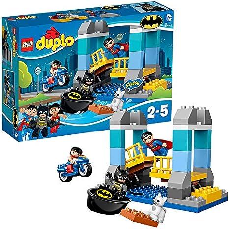 LEGO/® DUPLO/® DC Comics Super Heroes/™ Le labo des super-h/éros 30 Pi/èces 10921 Spider-Man et Captain America Jouet pour Tout-Petits Fille et Gar/çon 2 Ans Et Plus Inclus Iron Man