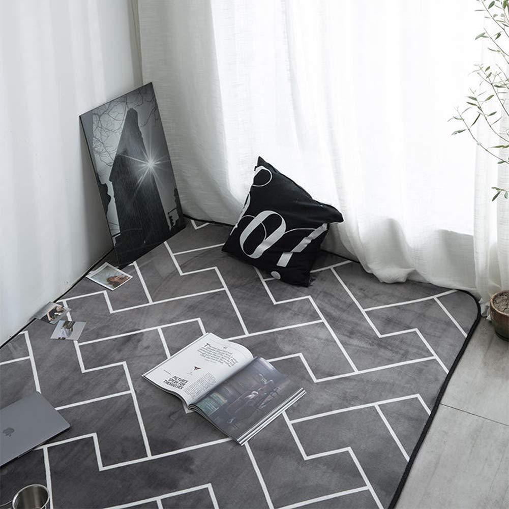 DADAO Wohnzimmer teppiche Läufer teppiche Diamant-Teppich Multi-bereichs-wolldecke für küche und zugang zum Eingang-A 80x185cm(31x73inch)