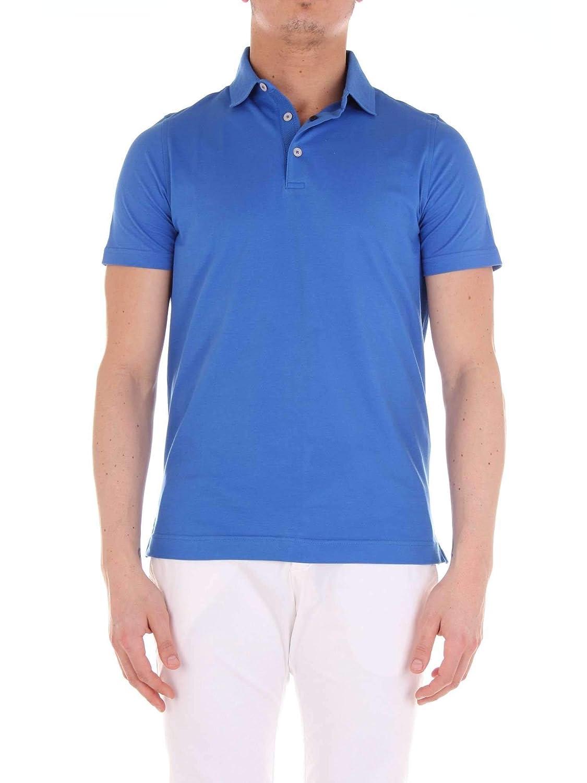 Taille Fabricant 50 Heritage Homme 0802Pbleu Bleu Coton Polo