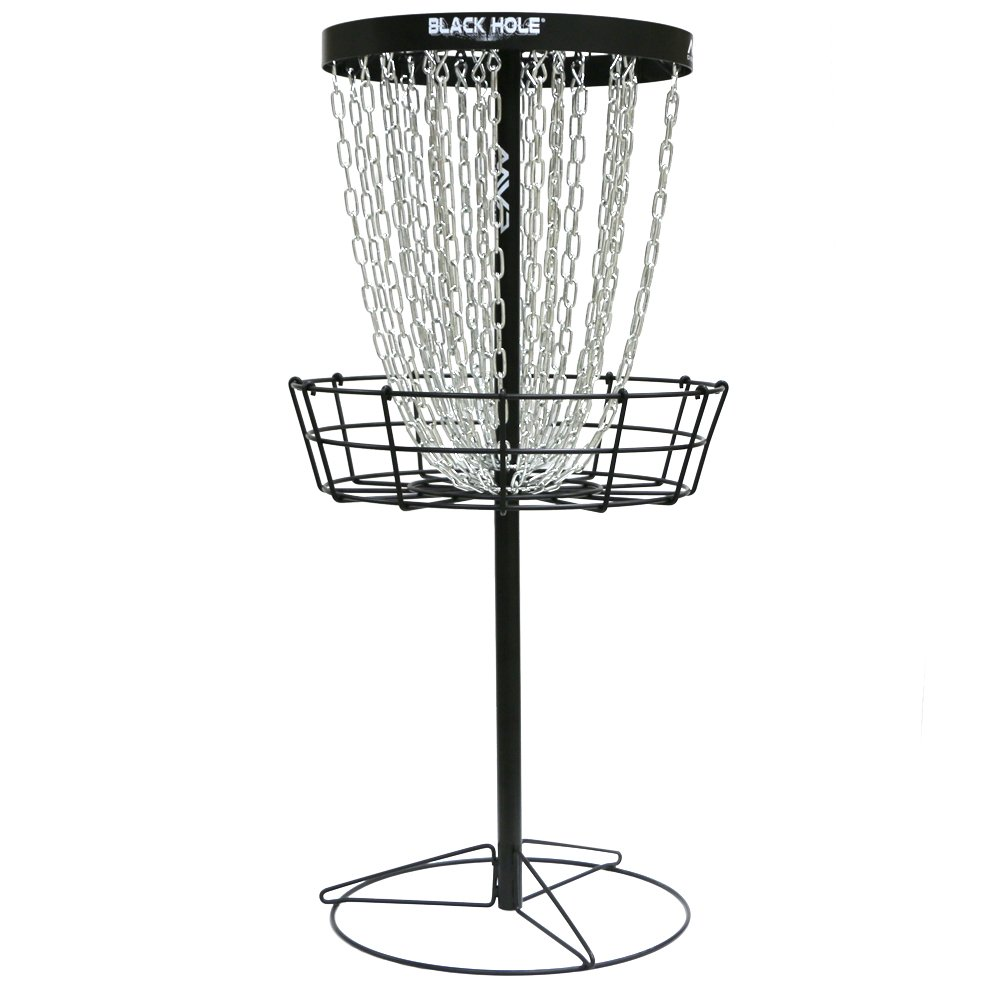 MVP Black Hole Pro HD 30-Chain Portable Disc Golf Basket Target by MVP Disc Sports