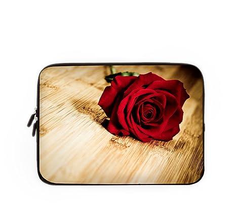 Bolsa de ordenador portátil bolsa de funda Caso Rosa, personalizado Lilly funda para portátil Macbook