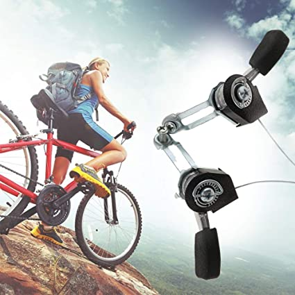 3 X 5//6//7 Speed Friction MTB Mountain Bike Bicycle Black Thumb Shifter for MTB