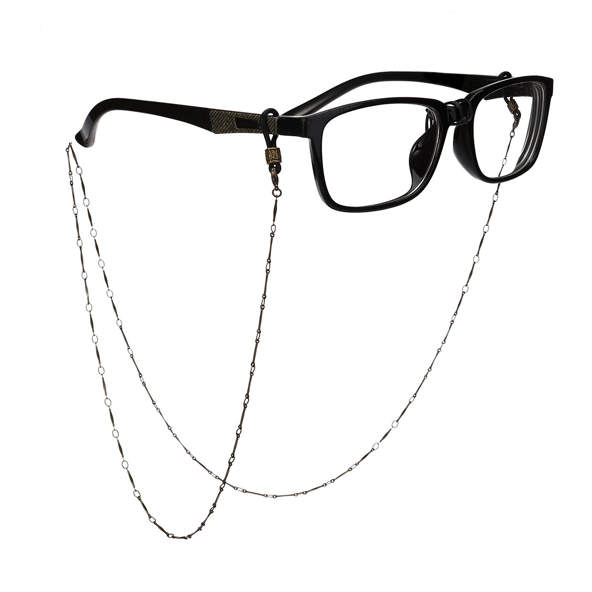 LUOEM Bronze Glasses Chain Eyeglass Necklace Cord Strap Sunglass Holder Lanyard Neck Holder Neck Cord G2NT155052A0IOH5094