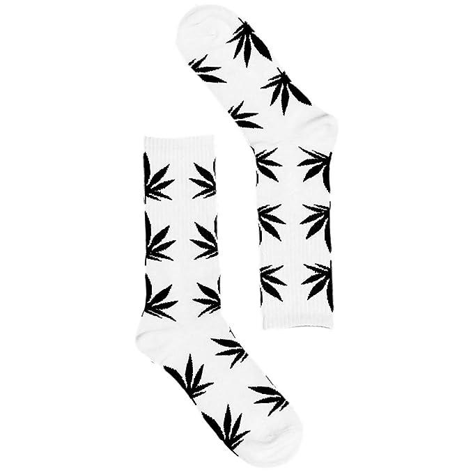 Calcetines cannabis blanco y negro - Kultur Kush (HUF Style)