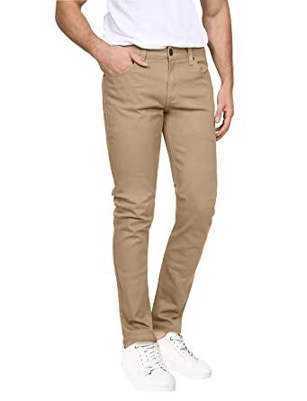 Hot Sale Mens Casual Trousers Solid Color Slim Fit Urban Straight Leg Pants Men Belt Cotton Autumn Pencil Pants New To Be Distributed All Over The World Men's Clothing