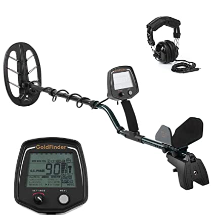 Metal Detector, KKmoon Professional Underground Metal Detector High Sensitivity Under Ground Gold Silver Detector Metal
