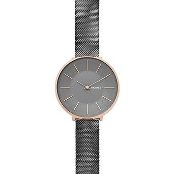 Skagen Reloj Analogico para Mujer de Cuarzo con Correa en Acero Inoxidable SKW2689: Amazon.es: Relojes