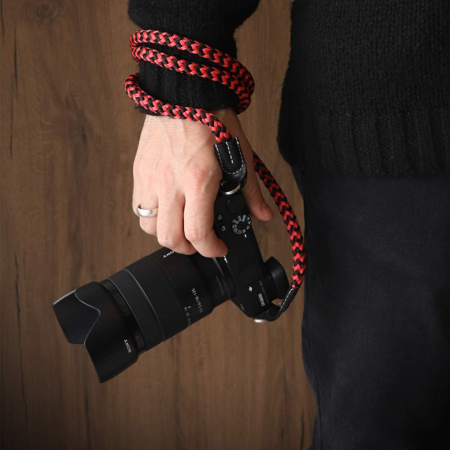 , Large100cm//39inc Black MegaGear MG941 Cotton Strap Comfort Padding Security for All Cameras