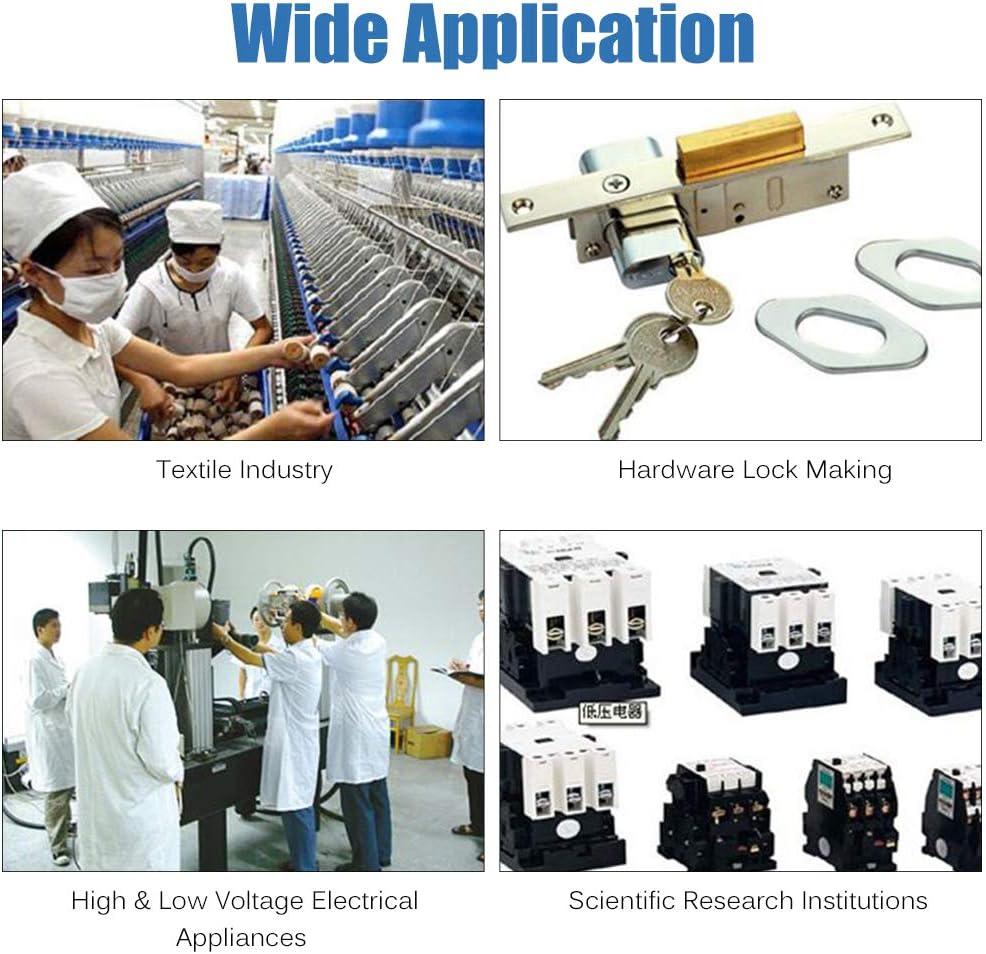 KKmoon Misuratore di Forza Digitale Push Pull Tester Calibro Dinamometro Portatile Tester Distruttivo 50N//5kg//11lb 100-240V