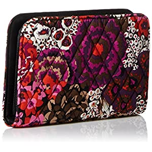 Vera Bradley Zip-Around Wristlet, Rosewood, One Size