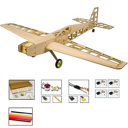 Viloga Balsa Wood RC Airplane T10 Training Plane, 31