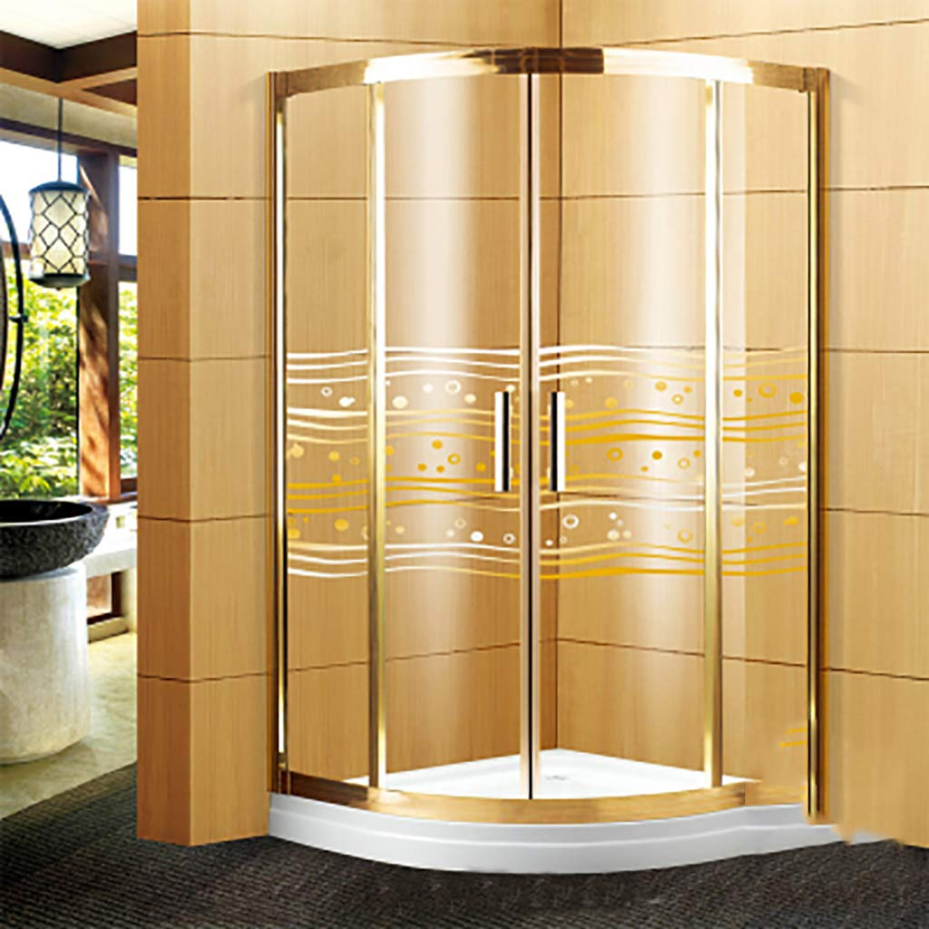 ガラス フィルム安全防爆浴室静的しがみつくシャワー ルーム事務所引き戸飛散防止ウィンドウ フィルム装飾を接着剤なし-B 152x210cm(60x83inch) B07H1SM3T3 B 152x210cm(60x83inch)