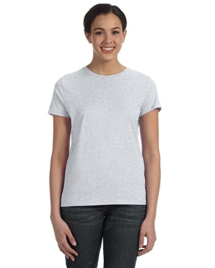 Hanes Women S Ringspun Nano Premium Tee Shirt At Amazon Women S