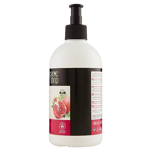 Organic Shop Pulsera de Granada Jabón de Manos de Vitaminas - 500 ml
