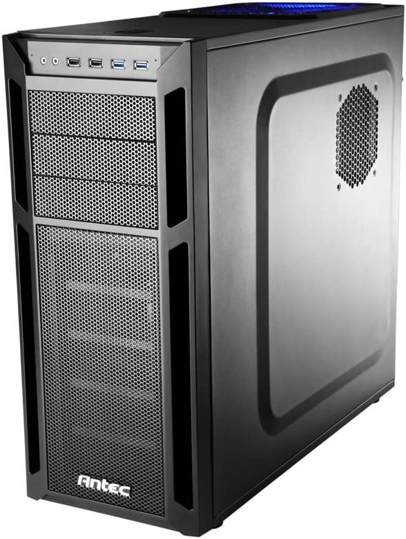 Amazon Com Antec Eleven Hundred Black Super Mid Tower Computer Case Computers Accessories