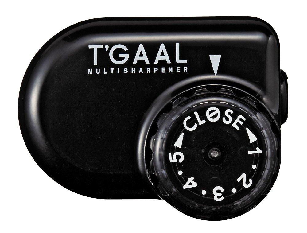 Kutsuwa STAD Winkel verstellbar Anspitzer T 'gaal, schwarz (rs017bk) NaSh-Design