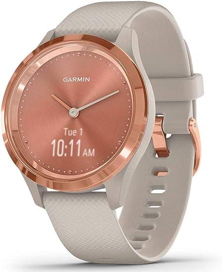 Oferta amazon: Garmin Vívomove 3S Sport Reloj Inteligente, Unisex Adulto, Rose Gold/Tundra, Small