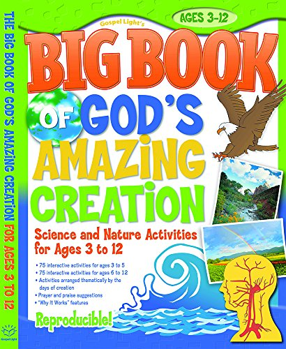 Big Book of God's Amazing Creation (Big Books)