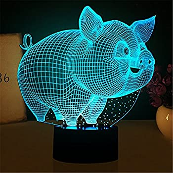 Amazon Com Midwest Cbk Flying Pig Night Light Home Amp Kitchen