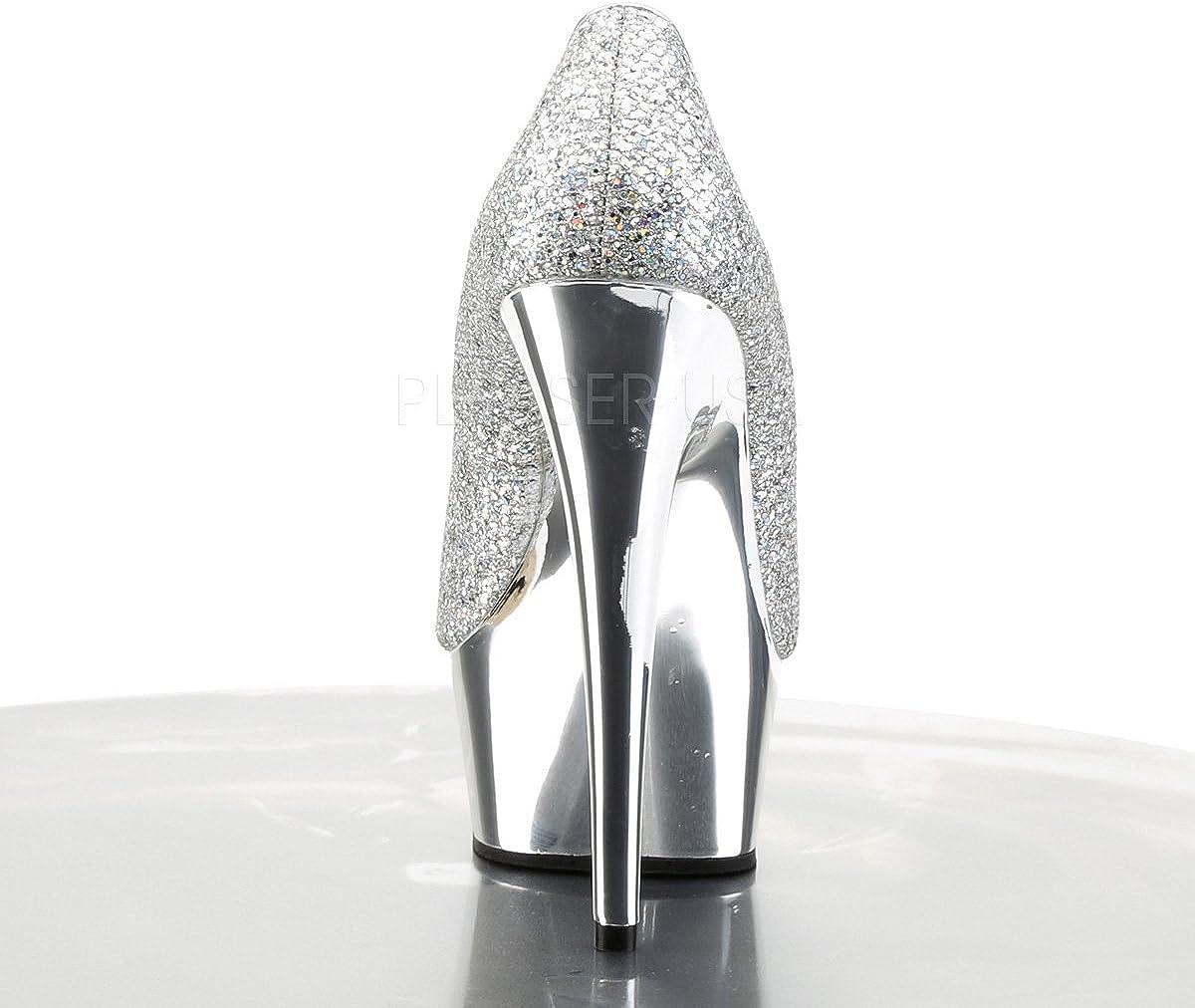 Pleaser Womens Delight-685G Sandal