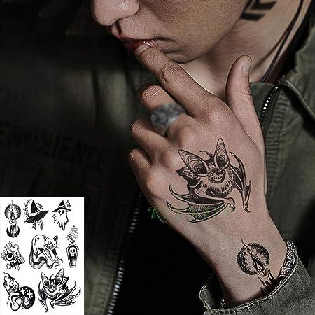 adgkitb 3 Piezas Etiqueta engomada del Tatuaje Temporal a Prueba ...