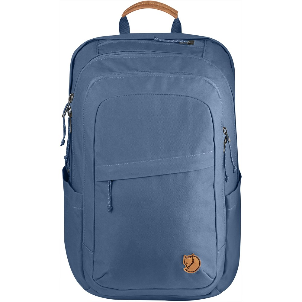 Fjallraven - Raven 28L Backpack, Blue Ridge, Unpacking Adventure Since 1960