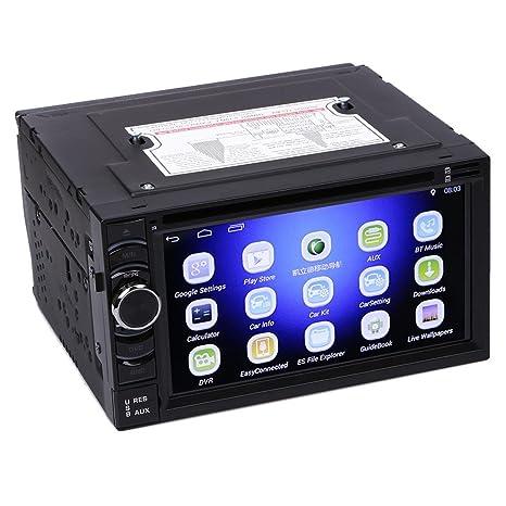 prettygood7 - Cámara de visión Trasera para Coche DVD GPS, Impermeable, visión Nocturna,