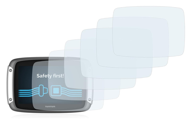 6 Unidades Savvies Protector de Pantalla Compatible con Tomtom Rider 400 Transparente