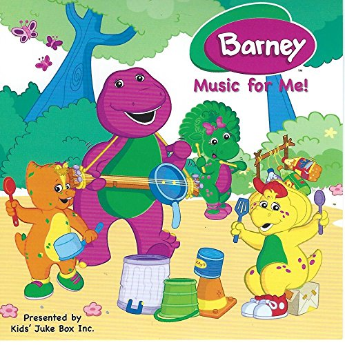 Children's Personalized SING YOUR NAME Music DVD or CD - Barney Music For Me - 20 Songs Standard - 'CUSTOMIZE WHEN ORDERING'