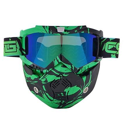 Gafas para casco de motocross tipo máscara, modernas ...