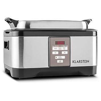 Klarstein Tastemaker Olla de cocción al vacío (6 Litros con tapa, Tiempo 1-