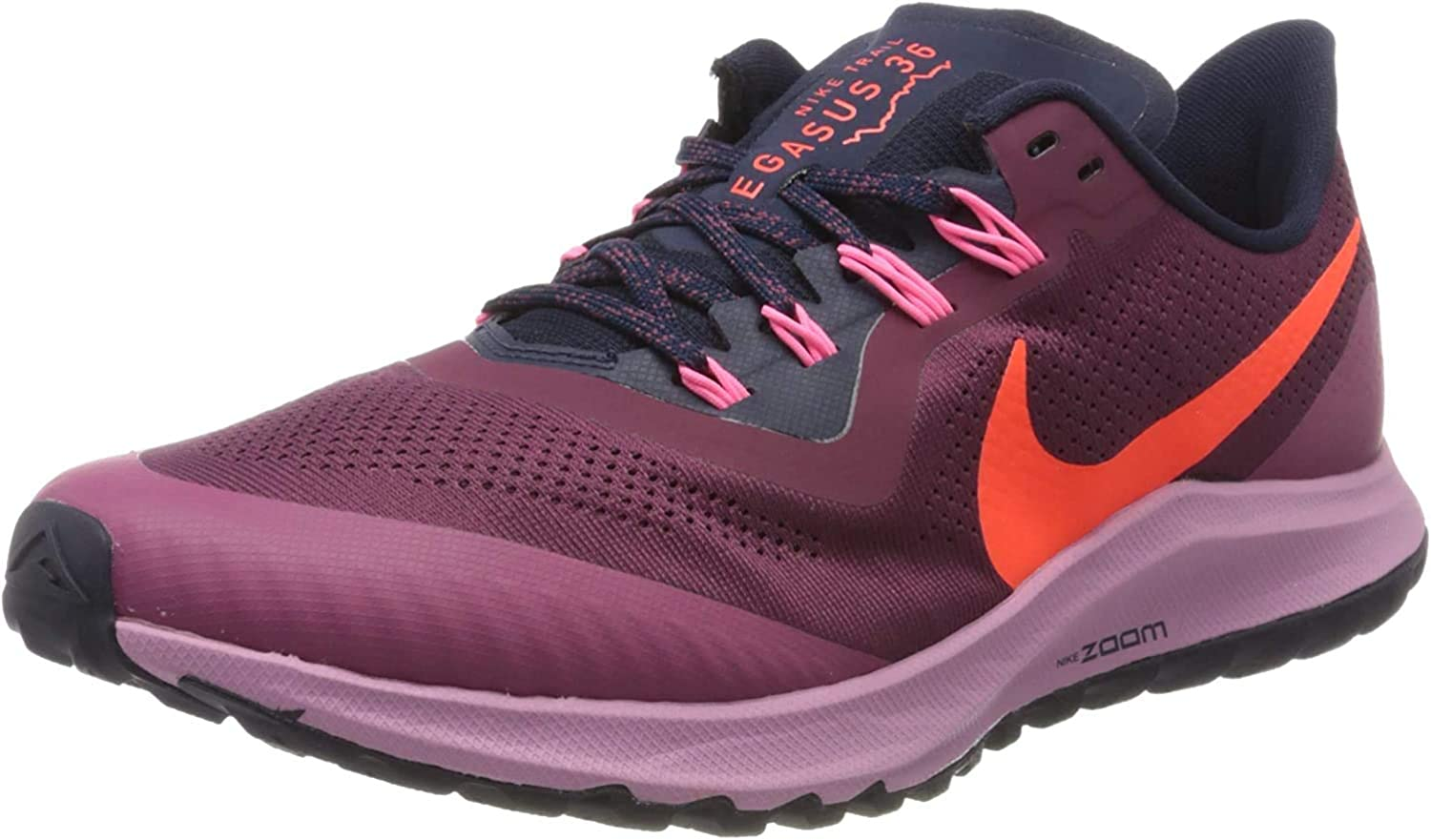 Nike Women's Training Competition Running Shoes, Lt Orewood BRN Black Pink Blast, ys/m Villain Red Total Crimson Black Blue