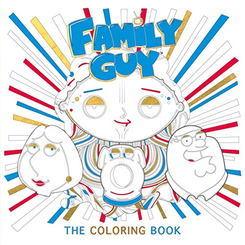 Family Guy The Coloring Book By Titan Books