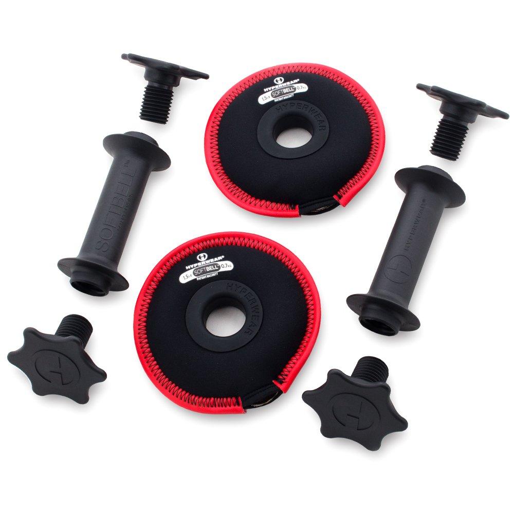 Hyperwear softbell 3-in-1 Deluxe - Soporte para pesas (una fácil ...