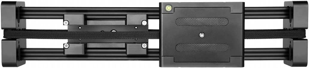 Slide Rail Track for DSLR//SLR Cameras//Video Cameras YINZHI Camera Accessories FT-40 Portable 36cm // 80cm Installs on Tripod Black Color : Black