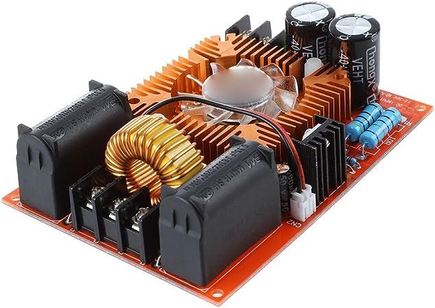 Nrpfell Controlador De Retorno De Bobina Tesla Zvs/Sgtc/Marx Generador/ Escalera De Jacob 12-30V Dc Rojo: Amazon.es: Bricolaje y herramientas