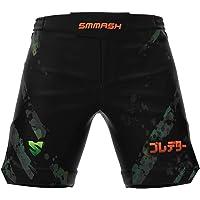 SMMASH Predator Deporte Profesionalmente Ultraligero Pantalones Cortos MMA para Hombre, Shorts MMA, BJJ, Grappling, Krav…