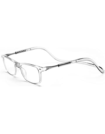 3aec1afcdf Click Magnetic Reading Glasses Adjustable Front Connect Reader