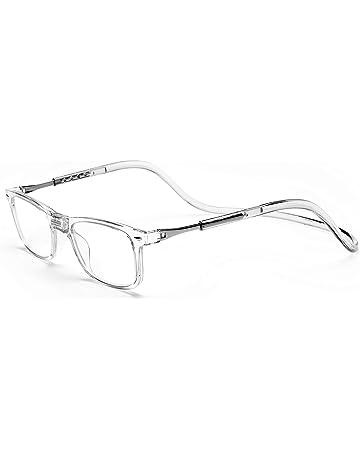 afc3c6c04e Click Magnetic Reading Glasses Adjustable Front Connect Reader