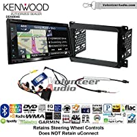 Volunteer Audio Kenwood Excelon DNX694S Double Din Radio Install Kit with GPS Navigation System Android Auto Apple CarPlay Fits 2013-2014 Dodge Ram