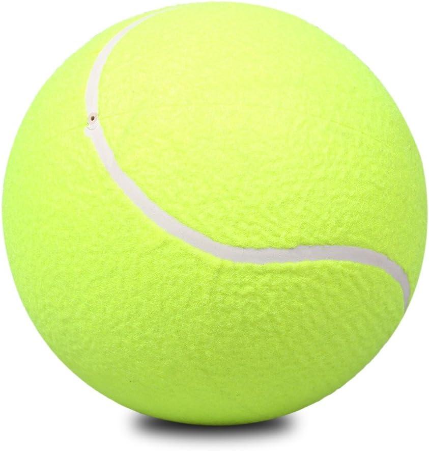 Pelota Grande de Tenis Juego para Deportes al Aire Libre Yellow para Mascotas con Pelo Largo y Corto,Perros, Gatos, Conejo,Caballos
