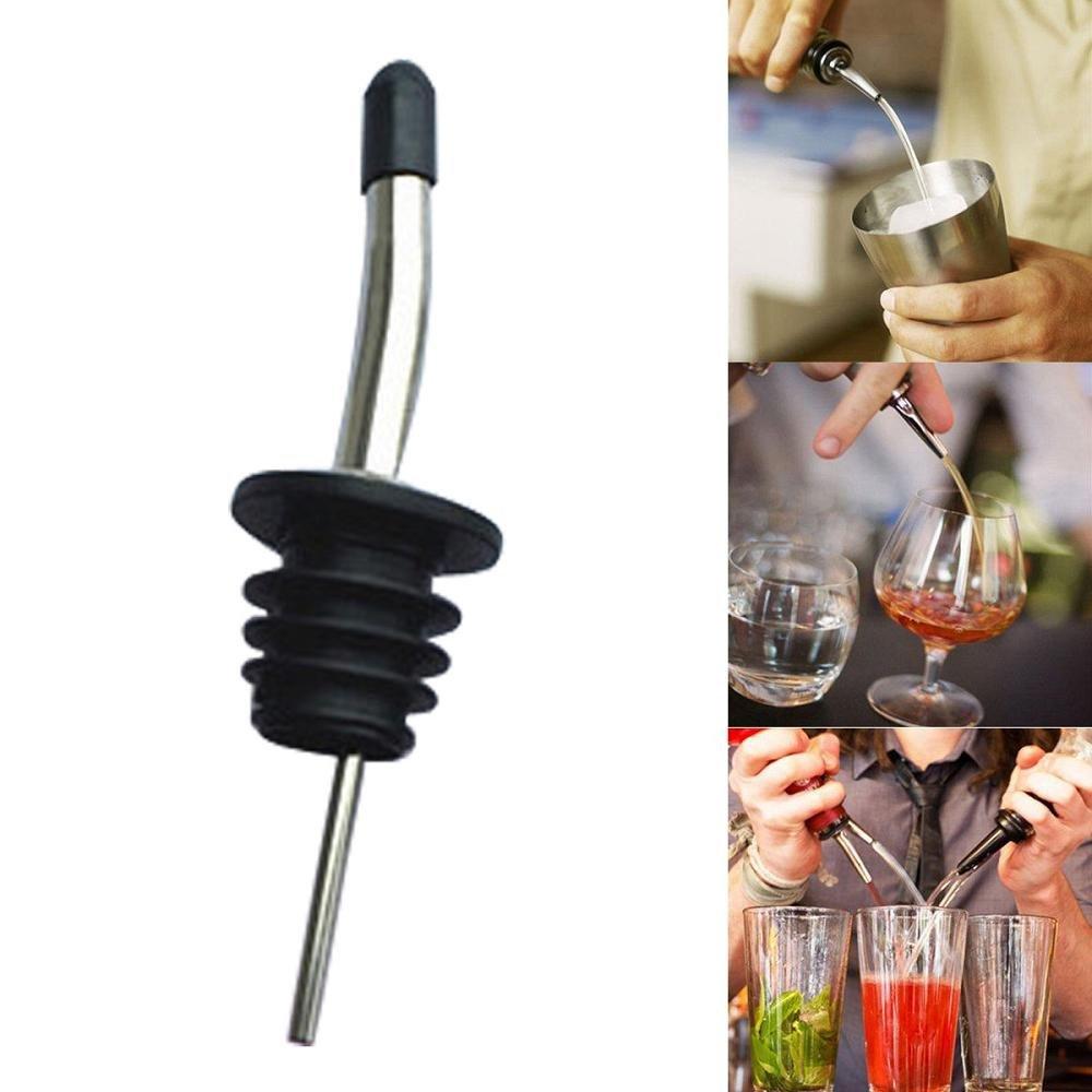FTXJ Stainless Steel Cap Liquor Spirit Pourer Cocktail Wine Stopper (B) by FTXJ (Image #3)