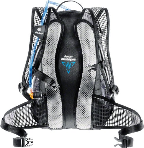 - Deuter Race X Backpack - Black/Silver 32123-41110