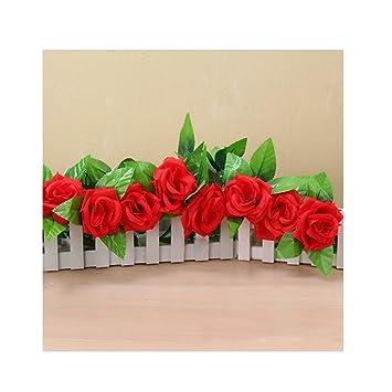 Ihrkleid Kunstblumen Blumen Rebe Rose Seidenblumen Girlande