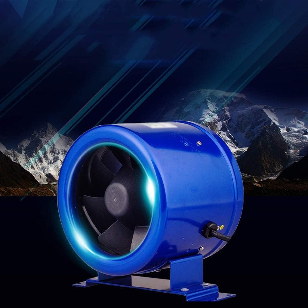 Extractor De Baño, Extractor de baño Ventilador, extractor de cocina Ventilador de metal de 6 pulgadas Fan de conducto circular, ventilación potente y ventilación soplador silencioso de alta velocidad