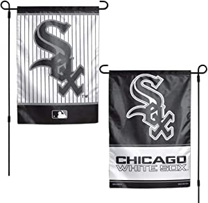 WinCraft MLB Chicago White Sox 12x18 Garden Style 2 Sided Flag, One Size, Team Color