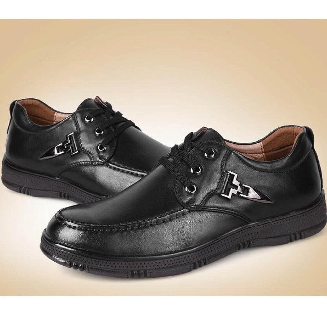 Frühling Casual Schuhe Männer Casual Frühling Herrenschuhe Einzelschuhe Lederschuhe schwarz f187cf