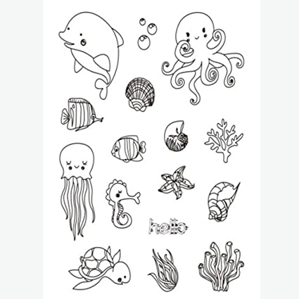 Amazon Clear Stamps For Diy Card Making Scrapbooking Stamps