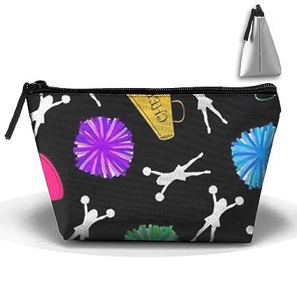 245867af3cc5 Amazon.com: SHOUNA Trapezoid Cosmetic Bags Brush Pouch Bullhorns ...