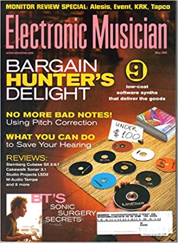 Electronic Musician {Volume 20, Issue 6, May 2004}: Amazon com: Books